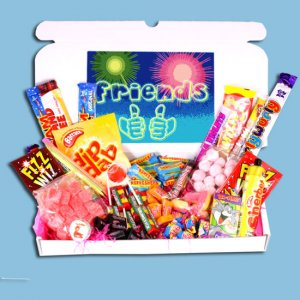 Friends Large Retro Sweets Box