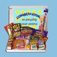 Exam Congratulations Mini Retro Sweets Box
