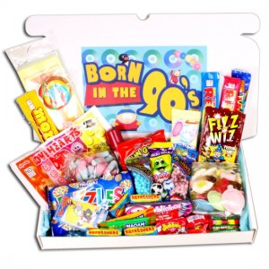 Born in the Nineties Sweets Large Gift Box