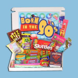 Born in the Nineties Sweets Mini Gift Box
