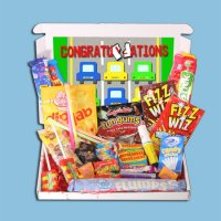 Driving Test Congratulations Mini Retro Sweets Box