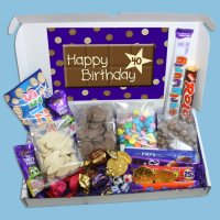 40th Birthday Large Chocolate Gift Box