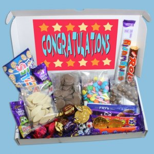 Congratulations Large Chocolate Gift Box
