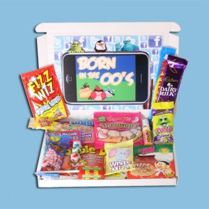 Born in the Noughties Sweets Mini Gift Box