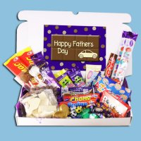 Fathers Day Large Retro Chocolate Novelties Gift Box