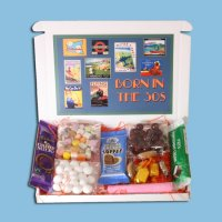 Born in the Thirties Sweets Mini Gift Box