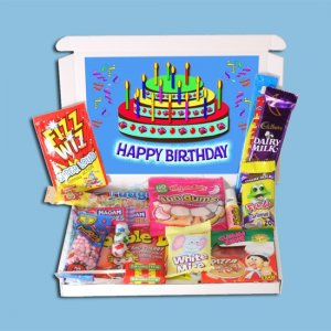 Happy Birthday Novelties Mini Gift Box