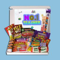 Number 1 Teacher Retro Sweets box