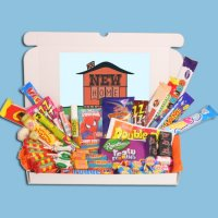 New Home Large Retro Sweets Gift Box