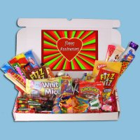 Happy Anniversary Retro Sweets Box