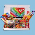 With Love Large Retro Sweets Box