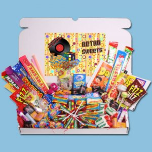 Retro Sweets Gift Box - One
