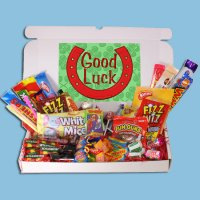 Good Luck Large Retro Sweets Box