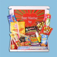 Valentines Retro Sweets Mini Gift Box