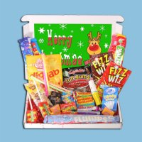 Christmas Rudolph Retro Sweets Mini Gift Box
