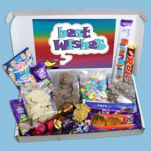 Best Wishes Large Chocolate Gift Box [GPK3365]