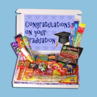 Graduation Mini Retro Sweets Box