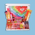 With Love Mini Retro Sweets Box