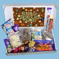 Retro Chocolate Novelties Large Gift Box