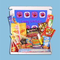 Happy Birthday Mini Retro Sweets Box