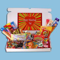 Valentines Day Retro Sweets Large Gift Box