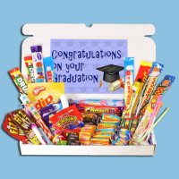 Graduation Large Retro Sweets Box