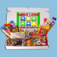Driving Test Congratulations Large Retro Sweets Box