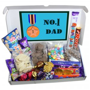 No1 Dad Large Chocolate Gift Box
