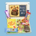 Born in the Forties Sweets Mini Gift Box
