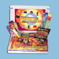 Born in the Eighties Retro Sweets Mini Gift Box