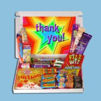 Thank You Mini Retro Sweets Box