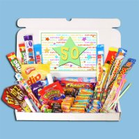 50th Birthday Sweets Gift Box