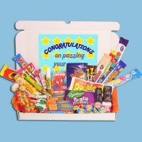 Exam Congratulations Large Retro Sweets Box