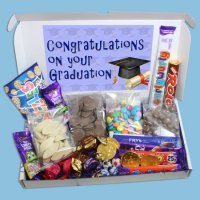 Graduation Congratulations Large Chocolate Gift Box