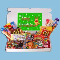 Christmas Retro Sweets Large Gift Box