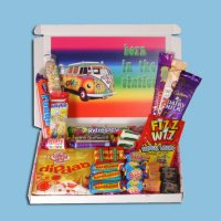 Born in the Sixties Retro Sweets Mini Gift Box