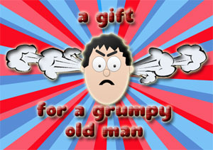 Grumpy Old Man Large Chocolate Gift Box