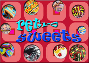 retro sweets drumsticks wham refreshers blackjacks sherbet dipdab