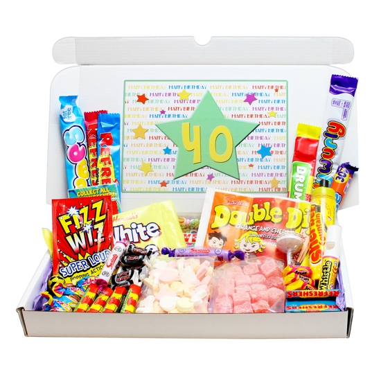 40th Birthday Sweets Gift Box