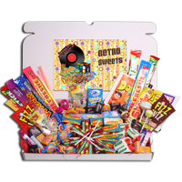 retro sweets gift boxes